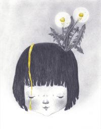 seforapons-graphite-goldleaf-symbiosis-dandelion-girl-tanpopochan