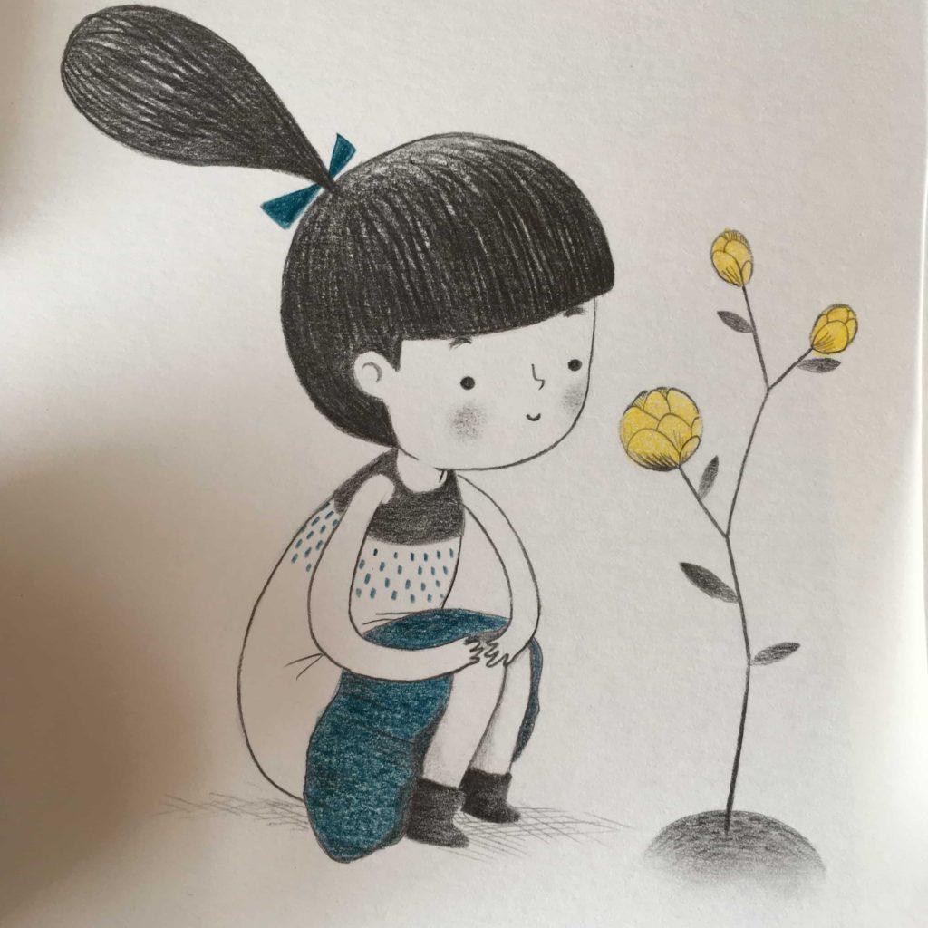 seforapons-illustration-graphite-colouredpencils-girl-junkoebastian-4